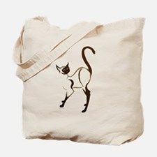 Proud Siamese Kitty Tote Bag