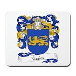 Texier Family Crest Mousepad