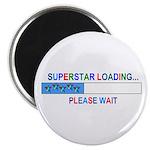 SUPERSTAR LOADING... Magnet