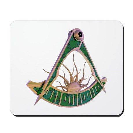 Past Master F&AM Mousepad