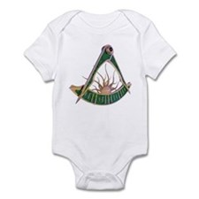 Past Master F&AM Infant Bodysuit