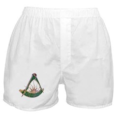 Past Master F&AM Boxer Shorts