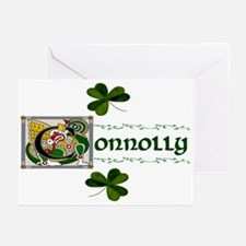 Connolly Celtic Dragon Greeting Cards (Package of