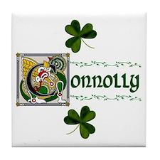Connolly Celtic Dragon Ceramic Tile