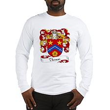 Thomas Family Crest Long Sleeve T-Shirt