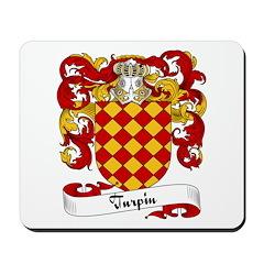Turpin Family Crest Mousepad
