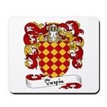 Turpin Family Crest Mousepad