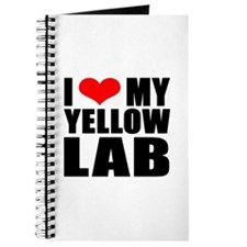 I Love My Yellow Lab Products Journal