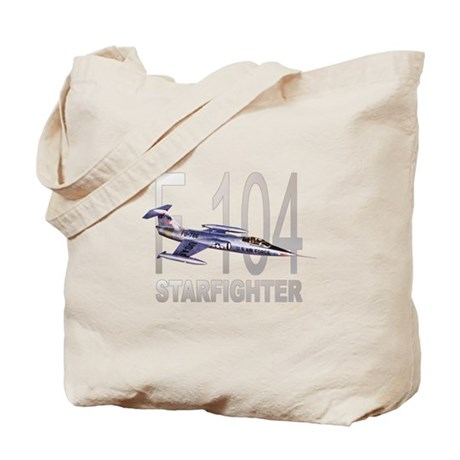 F-104 Starfighter Tote Bag