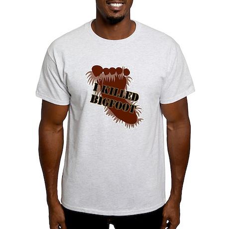 I killed Bigfoot Light T-Shirt