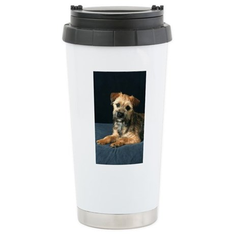 Border Terrier Stainless Steel Travel Mug