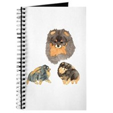Blk. & Tan Pomeranian Collage Journal