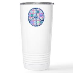 Multi Peace On Earth Sign Travel Mug