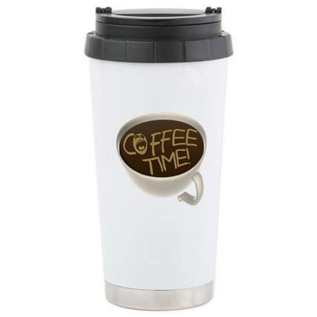 Coffee Time! Coffee Lovers Stainless Steel Travel