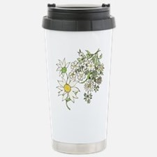 Unique Daisy wedding Travel Mug