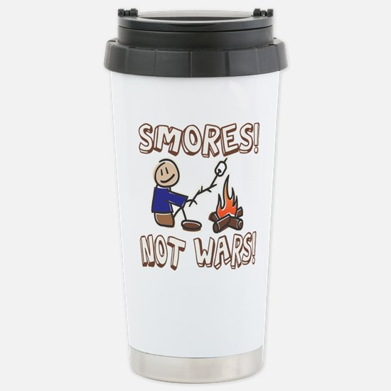 S'mores Not Wars! SMORES Stainless Steel Travel Mu