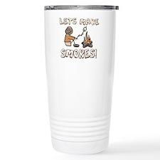 Lets Make SMORES! Travel Mug