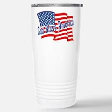 GOD BLESS AMERICA July 4th Travel Mug