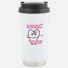 You don't have to floss Stainless Steel Travel Mug