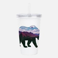 BEAR Acrylic Double-wall Tumbler