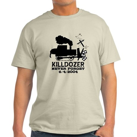 Killdozer Never Forget Light T-Shirt