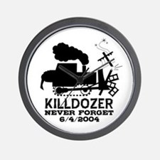 Killdozer Never Forget Wall Clock