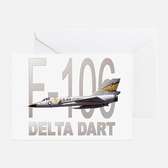 F-106 Delta Dart Greeting Card