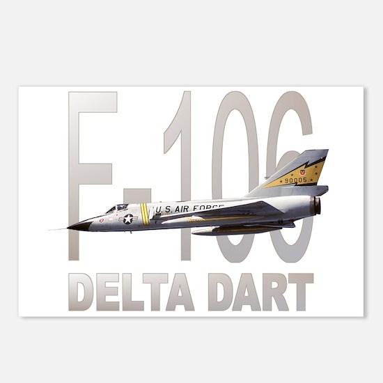 F-106 Delta Dart Postcards (Package of 8)