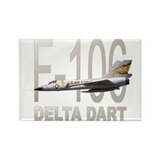 F-106 Delta Dart Rectangle Magnet