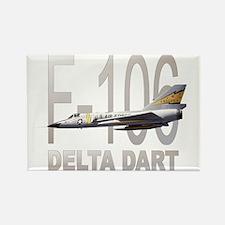 F-106 Delta Dart Rectangle Magnet