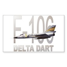 F-106 Delta Dart Rectangle Decal