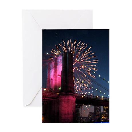 HAPPY BIRTHDAY FIREWORKSGreeting Card