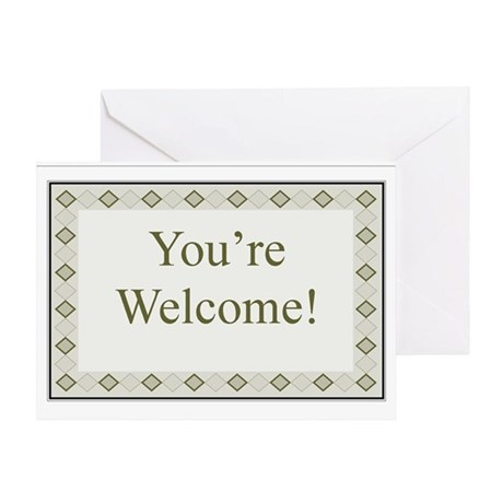 You're Welcome Card