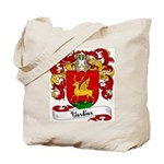 Verdier Family Crest Tote Bag