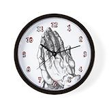 Praying hands clock Basic Clocks