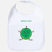 Apple Guy Bib