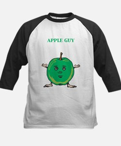 Apple Guy Kids Baseball Jersey