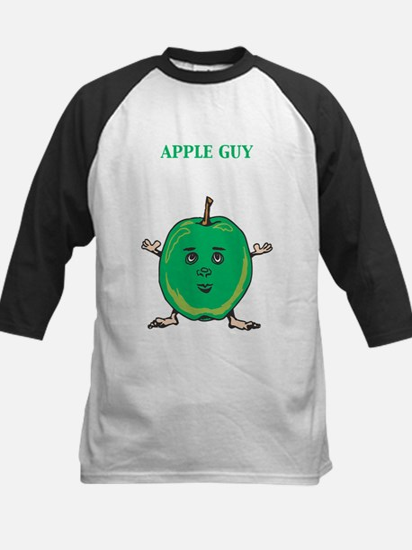 Apple Guy Kids Baseball Jersey