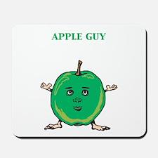 Apple Guy Mousepad