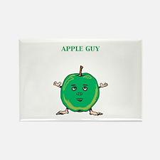 Apple Guy Rectangle Magnet