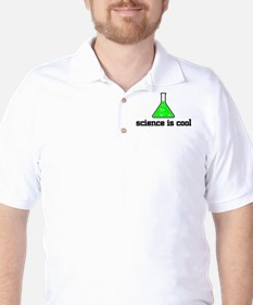 Science is cool Golf Shirt
