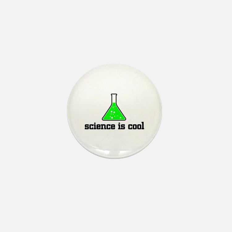 Science is cool Mini Button
