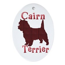 Cairn Terrier Oval Ornament