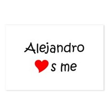 Cool Alejandro Postcards (Package of 8)
