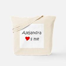 Cute Alejandra Tote Bag
