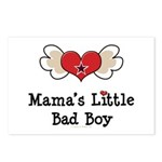 Mama's Little Bad Boy Postcards (Package of 8)