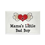 Mama's Little Bad Boy Rectangle Magnet (100 pack)