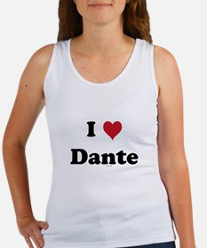 I love Dante Women's Tank Top