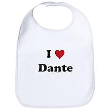 I love Dante Bib