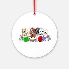 McDoodles Nursery Ornament (Round)